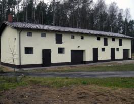 Budynek gospodarczy leśnictwa Młynki