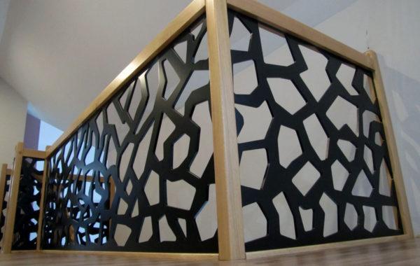 Schody-Q – dywanowe dębowe konglomerat LVL
