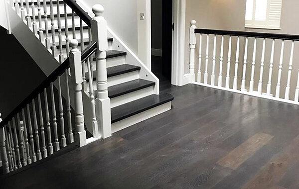 Stairs-Q – Londyn – Dębowe styl angielski orzech